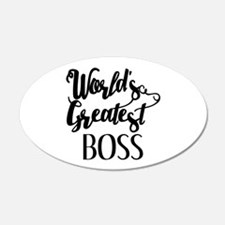 World's Greatest Boss Wall Decal