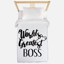 World's Greatest Boss Twin Duvet