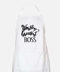 World's Greatest Boss Apron