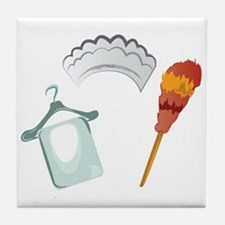 Feather Duster Tile Coaster