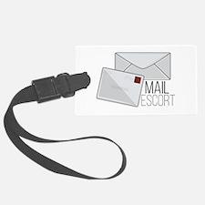 Mail Escort Luggage Tag