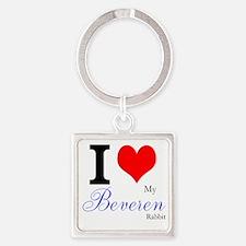 I heart my Beveren Keychains