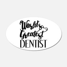 World's Greatest Dentist Wall Decal