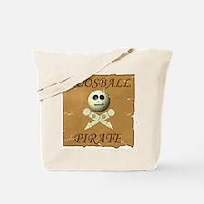 Cute Soccer skull Tote Bag