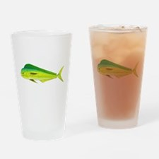 Mahi-Mahi Dolphinfish 3 Drinking Glass