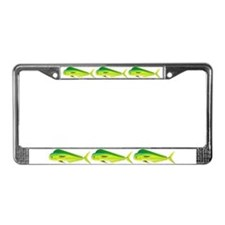 Mahi-Mahi Dolphinfish 3 License Plate Frame