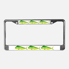 Mahi-Mahi Dolphinfish 3 License Plate Frame