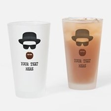 [Your Text] Heisenberg Drinking Glass