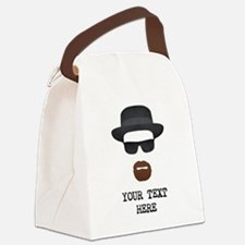 [Your Text] Heisenberg Canvas Lunch Bag