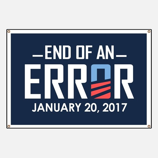 End Of An Error Banner