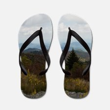 North Carolina Mountain Range Flip Flops