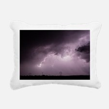 Cute Lineman Rectangular Canvas Pillow