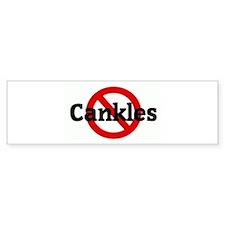 Anti Cankles Bumper Bumper Sticker