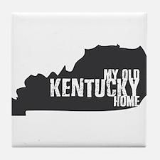 My Old Kentucky Home Tile Coaster