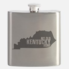 My Old Kentucky Home Flask