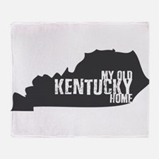 My Old Kentucky Home Throw Blanket