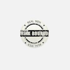 Real Men Drink Bourbon Mini Button (100 pack)