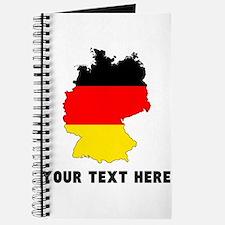 German Flag Silhouette (Custom) Journal
