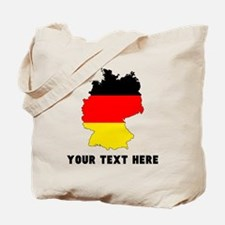 German Flag Silhouette (Custom) Tote Bag