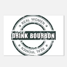 Real Women Drink Bourbon Postcards (Package of 8)