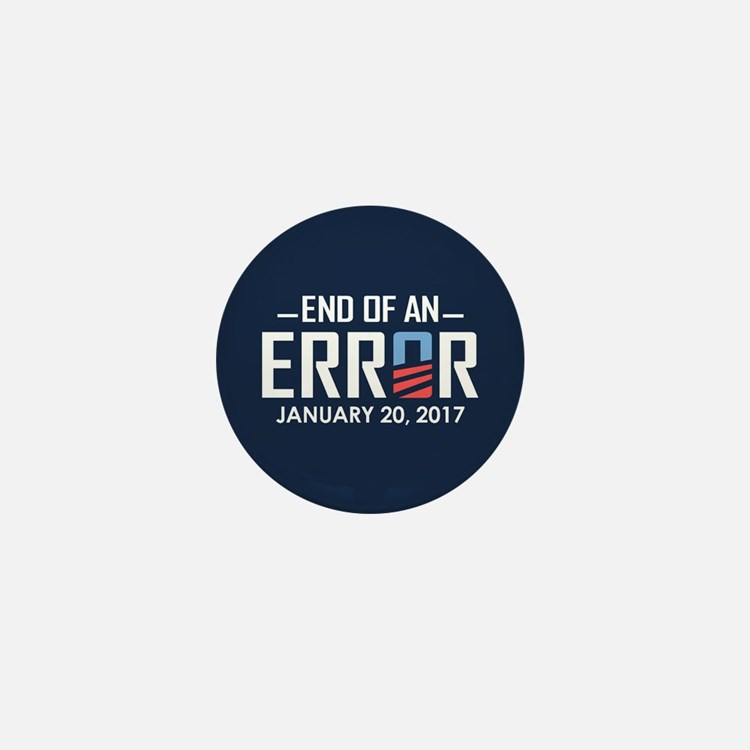 End Of An Error Mini Button