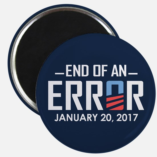 End Of An Error Magnets
