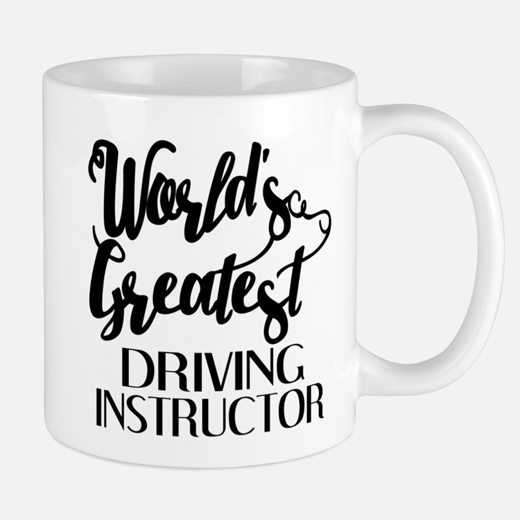 World's Greatest Driving Instructor Mug