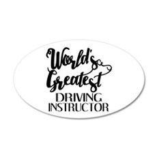 World's Greatest Driving Ins Wall Decal