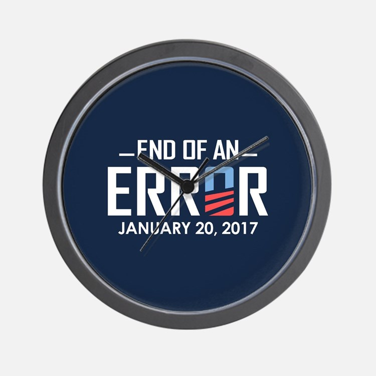 End Of An Error Wall Clock
