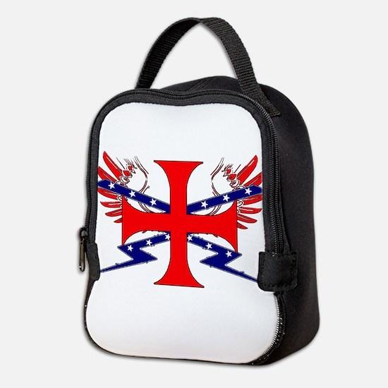 Templar Republic Flag Neoprene Lunch Bag