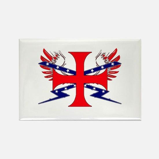 Templar Republic Flag Rectangle Magnet (10 pack)