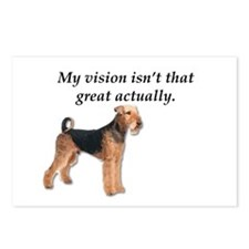 Airedales can't actually Postcards (Package of 8)