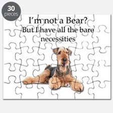 Airedale Surprised He Isn't a Bear Puzzle