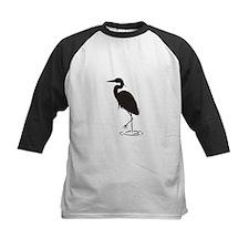 Heron Silhouette Baseball Jersey