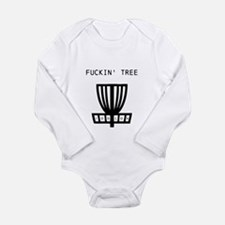 Cool Golf disc Long Sleeve Infant Bodysuit