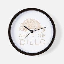 Unique Funny armadillo Wall Clock