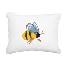 bee2.jpg Rectangular Canvas Pillow