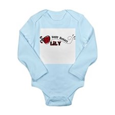 Funny China Long Sleeve Infant Bodysuit