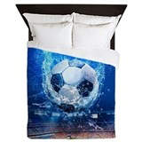 Soccer Queen Duvet Covers