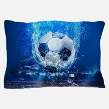 Ball Splash Over Stadium Pillow Case