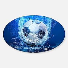 Ball Splash Over Stadium Decal