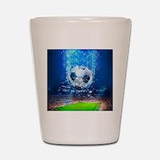 Ball Splash Over Stadium Shot Glass