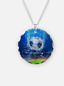 Ball Splash Over Stadium Necklace