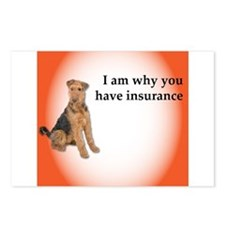 Airedales: Why you have i Postcards (Package of 8)