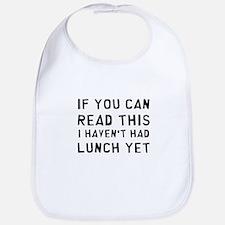 Lunch Bib