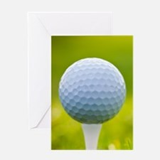 Golf Ball Greeting Cards