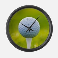 Golf Ball Large Wall Clock