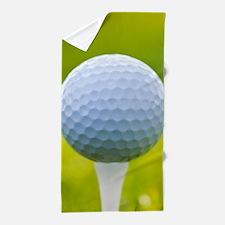 Golf Ball Beach Towel
