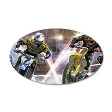 Motocross Arena Wall Decal