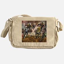 Motocross Arena Messenger Bag